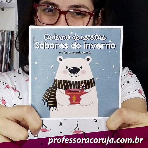 Livro de Receitas - Inverno | Produto Digital