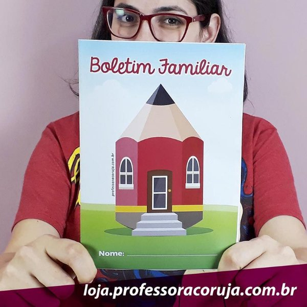Boletim Familiar | Produto Digital