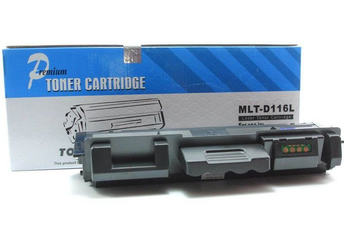 TONER COMPATÍVEL SAMSUNG MLT-D116L D116 116L - SL-M2885FW SL-M2835DW SL-M2825ND 3K