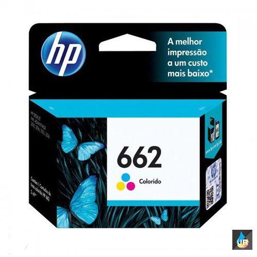CARTUCHO HP 662 ORIGINAL COLOR -  CZ104AB- 2ML 1516,3015,3016