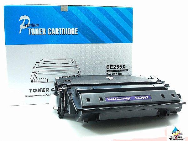 Toner Compatível HP CE 55X ,CE255X, CE255XB, | P3015 P3015N P3015D P3015DN P3015X M525F