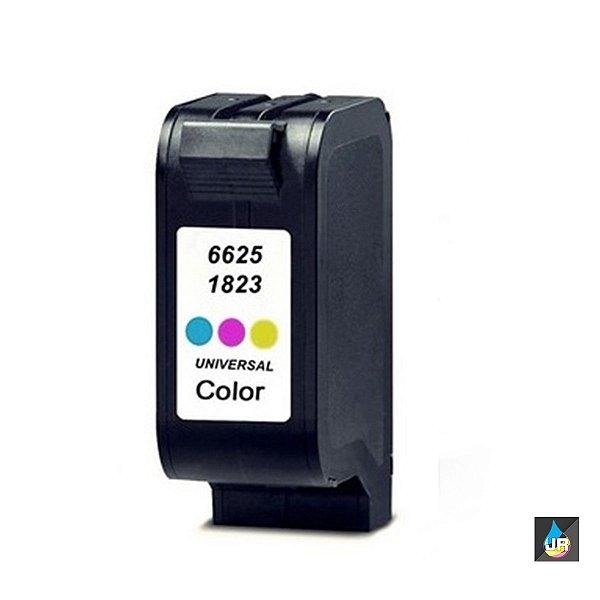 Cartucho de Tinta Compatível com HP 17 CC6625A Colorido | Deskjet 710C Deskjet 840