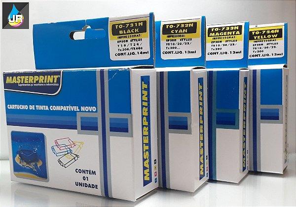 CARTUCHOS COMPATÍVEIS COM  EPSON ,C79,TX4900,TX9900,73N,TX210 (UNID)