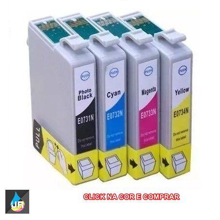 CARTUCHOS COMPATÍVEIS COM  EPSON ,73N,C79,TX4900,TX9900,73N,TX210 (UNID)