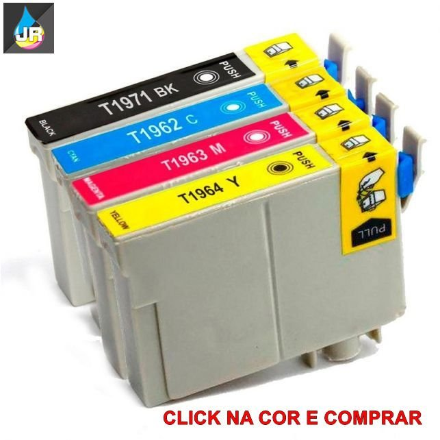 CARTUCHO COMPATIVEL EPSON ,T197 T 194, T194220, XP204,XP211, XP214 (UNID)