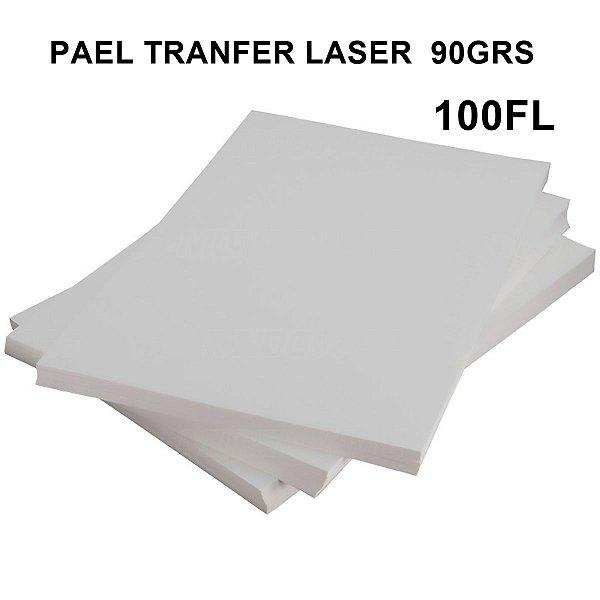 PAPEL TRANSFER LASER  A4  90GRS C/100 FOLHAS