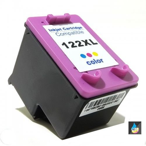 CARTUCHO  COMPATIVEL  HP 122XL  12 ml  color  CX 1 UN 1000; 2000; 2050; 3050.