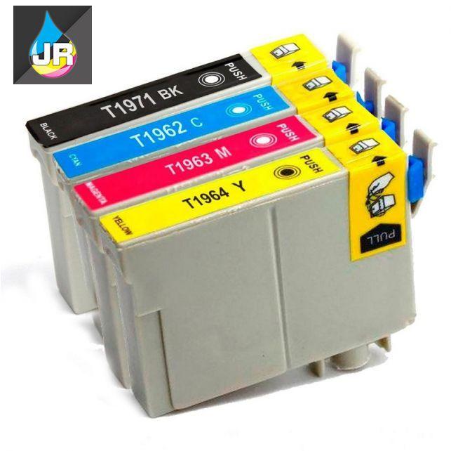 KIT  4 CARTUCHOS DE TINTA EPSON PARA IMPRESSORA  XP101 XP201 XP214 XP401 XP411