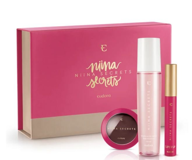 Kit Presente Niina Secrets + Caixa Exclusiva