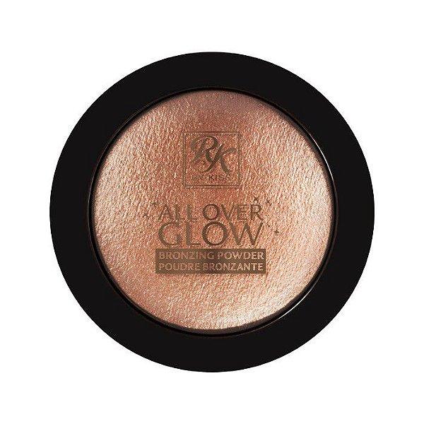 Pó Bronzeador By Kiss Ny All Over Glow Powder – Cor Bronzed Glow