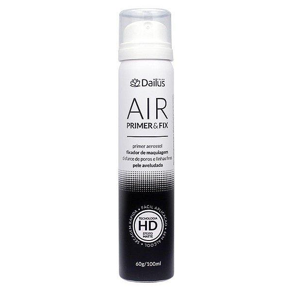 Dailus Air Primer & Fix Fixador De Maquiagem 60g