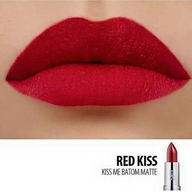 Batom Eudora Soul Matte Red Kiss val. 10/2019