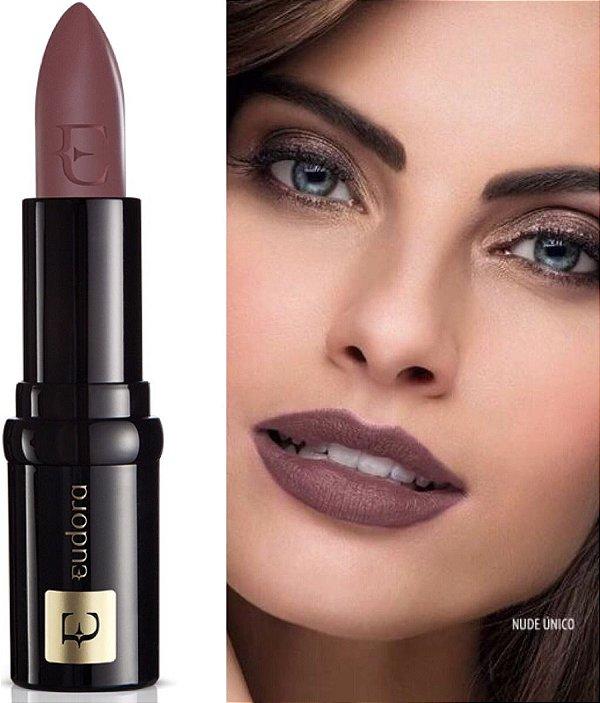 Batom Eudora Lip Deluxe Nude Único