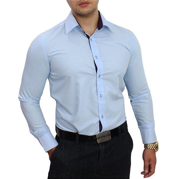 Fotos De Camisa Social Masculina GU11 - Ivango