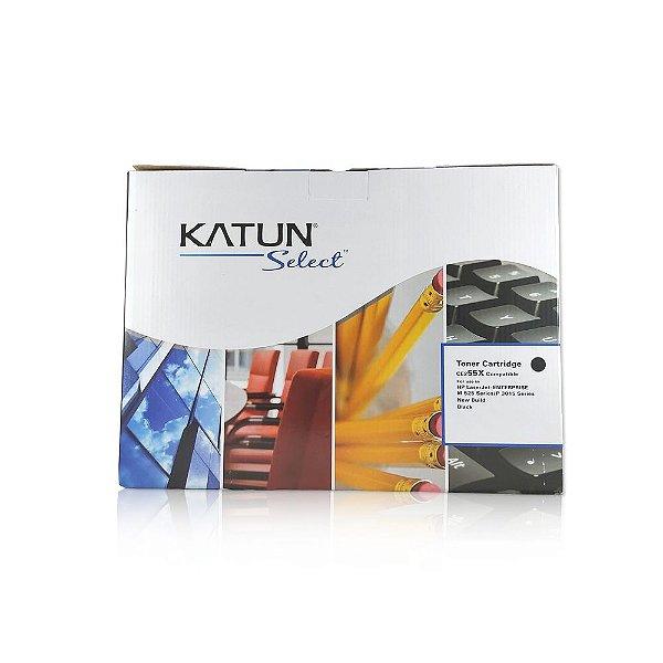 Toner HP CE255X   HP 55X Preto Katun para 12.500 páginas