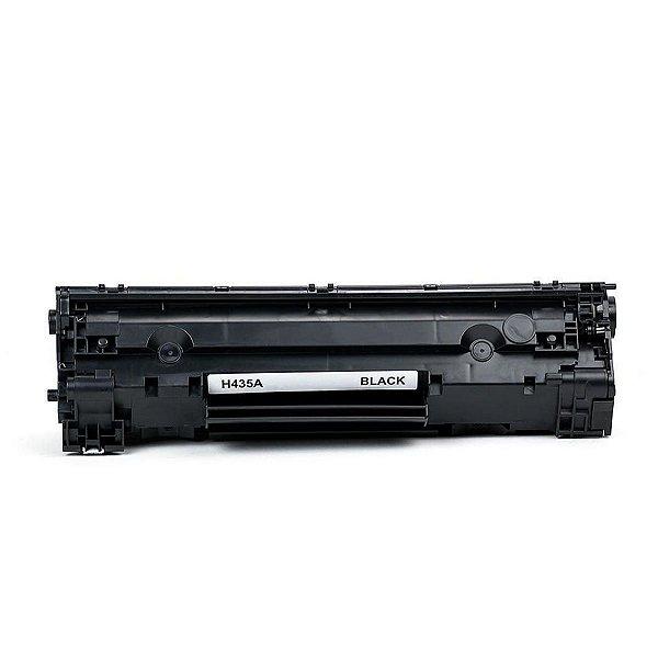 Toner HP CB435A   35A LaserJet Preto Compatível para 2.000 páginas