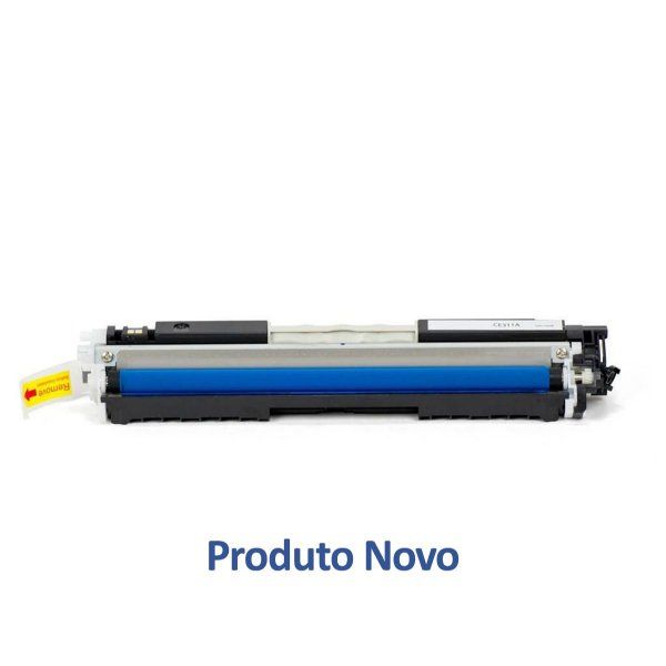 Toner HP 130A   M176n   M176   CF351A LaserJet Ciano Compatível