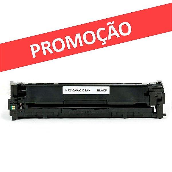 Toner HP CE320A   CP1525   HP 128A Preto LaserJet Compatível