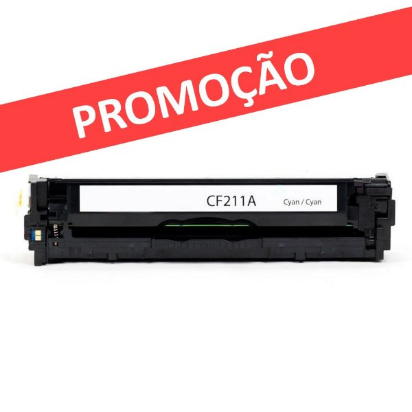 Toner HP Pro 200   M276nw   M251nw   CF211A Ciano Compatível