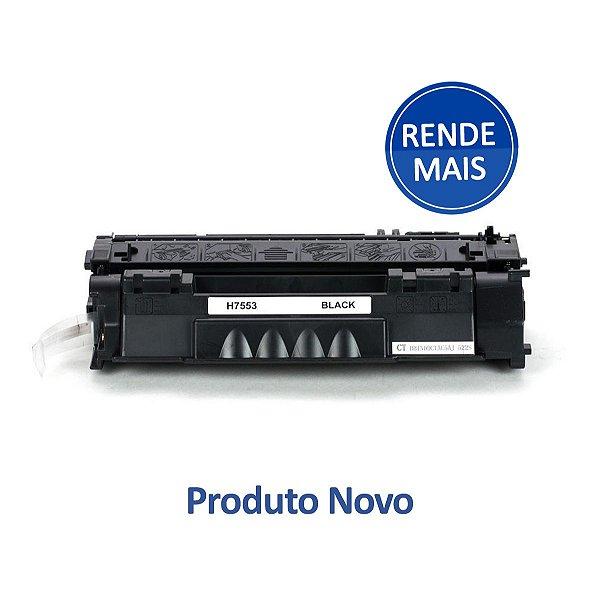 Toner para HP P2015   M2727   P2014n   Q7553X Preto Compatível