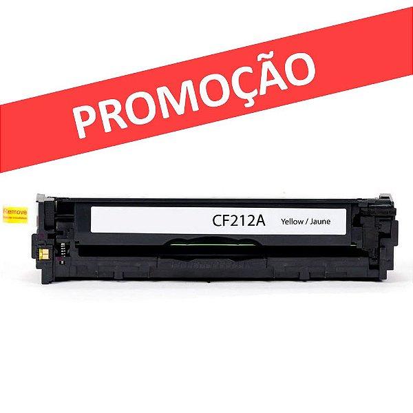 Toner para HP CP1215   CM1312NFI   CB542A Amarelo Compatível