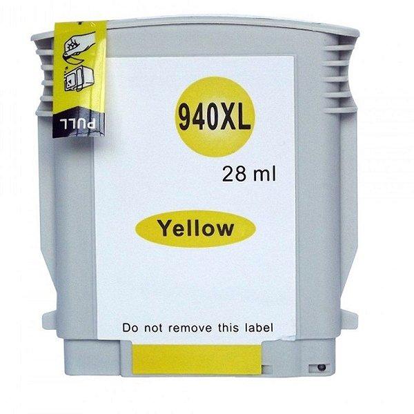 Cartucho para HP Pro 8000   Pro 8500A   HP 940XL Amarelo Compatível 28ml
