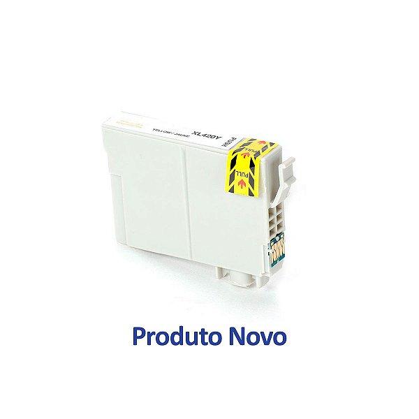 Cartucho Epson TX125   TX135   T25   T133420   133 Stylus Amarelo Compatível 9ml