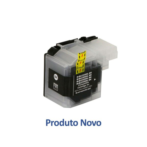 Cartucho Brother LC509BK | DCP-J105 | J105 | MFC-J200 Preto Compatível 54ml