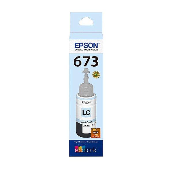 Tinta Epson T673 | T673520 Ciano Claro EcoTank Original 70ml