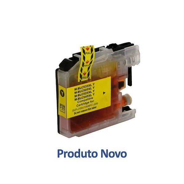 Cartucho Brother J105 | DCP-J105 | MFC-J200 | LC505Y Amarelo Compatível 14ml