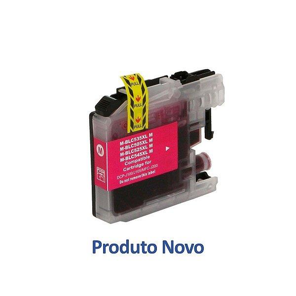 Cartucho Brother J105 | DCP-J105 | MFC-J200 | LC505M Magenta Compatível 14ml
