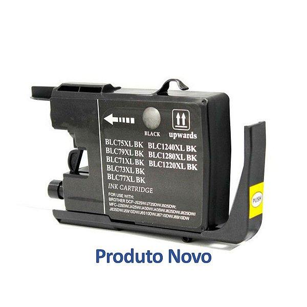 Cartucho Brother MFC-J6510DW | LC75BK Preto Compatível