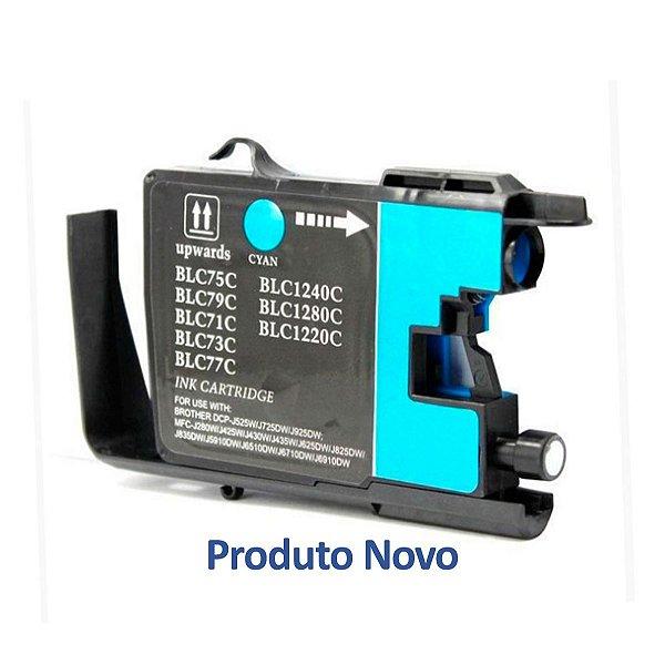 Cartucho Brother MFC-J430W | LC75C Ciano Compatível