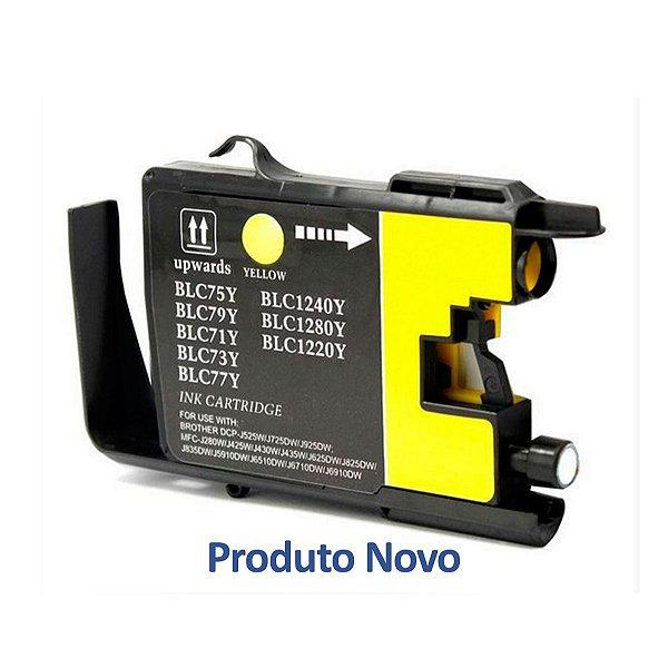Cartucho Brother 6710 | MFC-J6710DW | LC75Y Amarelo Compatível