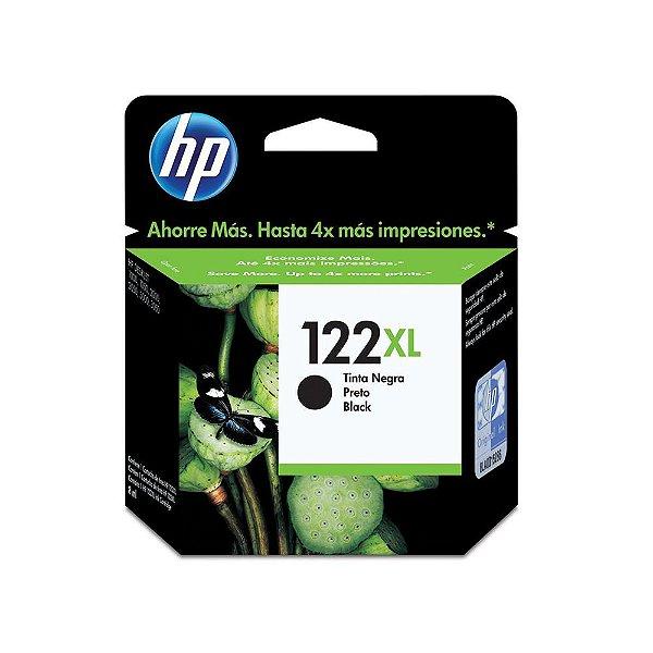 Cartucho HP 2050 | 1510 | 1000 | 3510 | HP 122XL Preto Original
