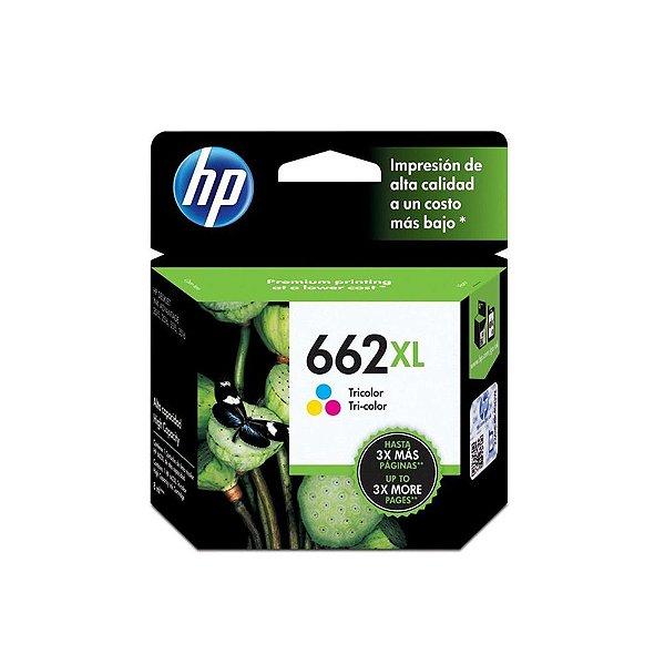 Cartucho HP 1516 | HP 662XL | CZ106AB Deskjet Ink Advantage Colorido Original 8ml