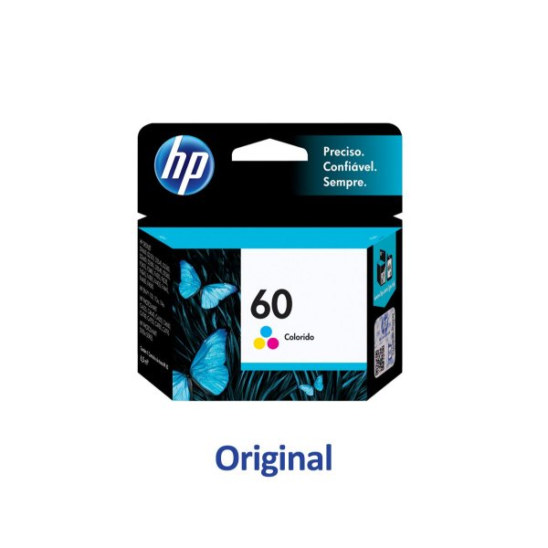 Cartucho HP C4680   F4280   D110a   4580   HP 60 Colorido Original 6,5ml