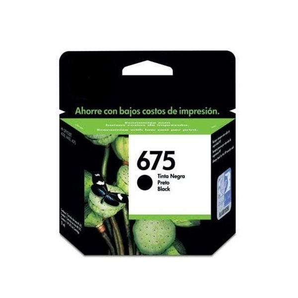 Cartucho HP 4400 | 4575 | HP 675 | 675XL Preto Compatível