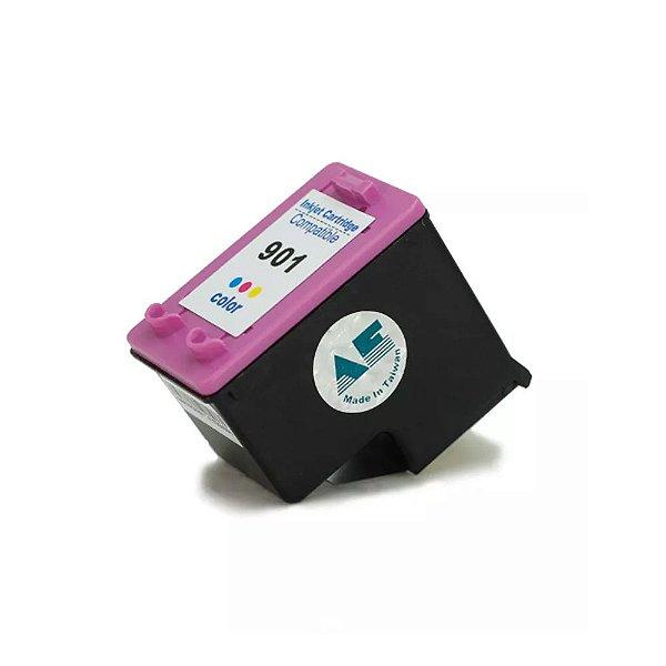 Cartucho HP 901 OfficeJet J4660   901XL Colorido Compatível 13ml