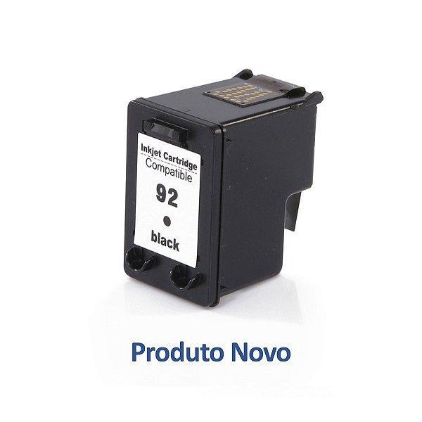 Cartucho HP 1510 | C3180 | HP 92 Deskjet Preto Compatível 13ml