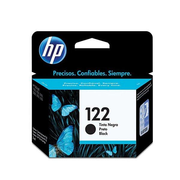 Cartucho HP 1000 | HP 122 | CH561HB | HP 122 Deskjet Preto Original 2ml