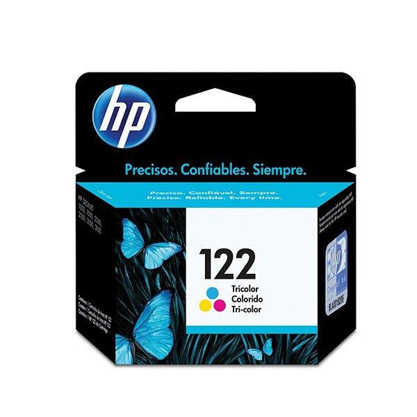 Cartucho HP 3050   HP 122   CH562HB   HP 122 Deskjet Colorido Original 2ml