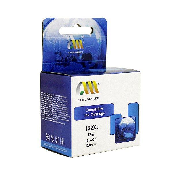 Cartucho HP 1510 | HP 122XL | CH563HB | HP 122 Deskjet Preto Compatível 12ml