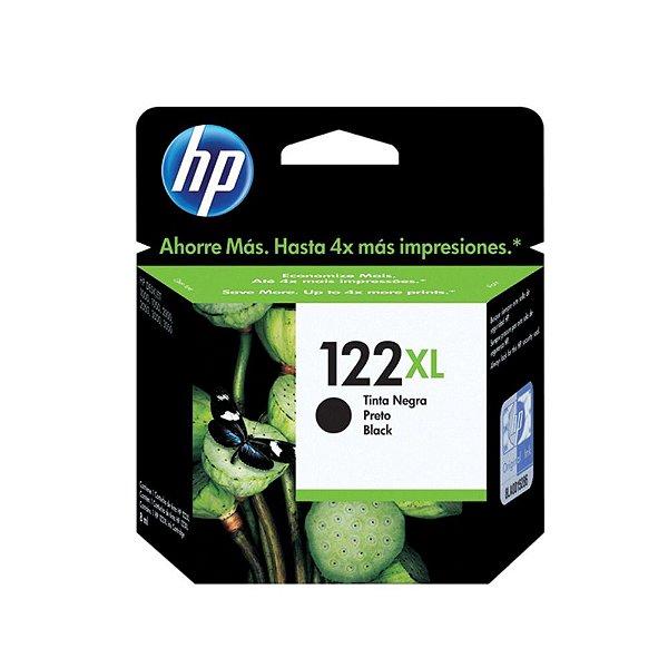 Cartucho HP 1510 | HP 122XL | CH563HB | HP 122 Deskjet Preto Original 8ml