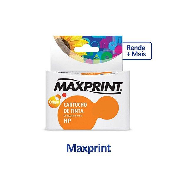 Cartucho HP F4480 | HP 60XL | CC644WB | HP 60 Deskjet Colorido Maxprint 12,5ml