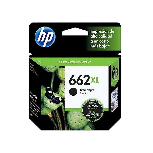 Cartucho HP 3510 | HP 662XL | CZ105AB Deskjet Ink Advantage Preto Original 6,5ml