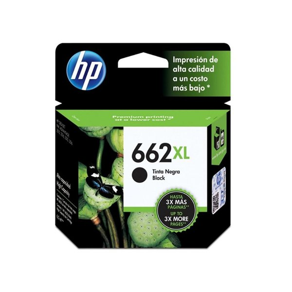 Cartucho HP 2545 | HP 662XL | CZ105AB Deskjet Ink Advantage Preto Original 6,5ml