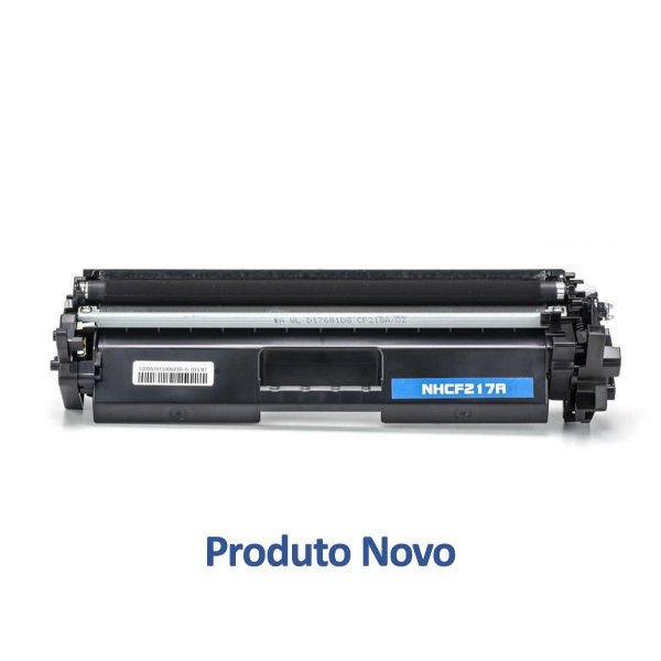 Toner HP 17A LaserJet Pro   HP CF217A Preto Compatível para 1.600 páginas