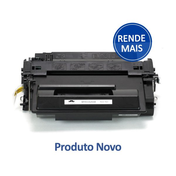 Toner HP P3015d   CE255X   Laserjet Pro Preto Compativel para 12.500 páginas