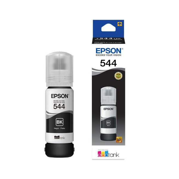 Tinta Epson L3110 EcoTank   544   T544120 Original Corante Preto 65ml